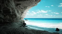 hd wallpaper cave on the beach wallpaper Natural Beautiful Beach HD