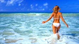 Girls Bikini Beach Summer HD Wallpaper of Beach – hdwallpaper2013