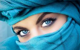 Girl Blue Eyes Beautiful Eyelashes HD Wallpapers