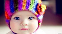 Cute Baby Girl with Blue Eyes Cute Little Baby Girl With Blue Eyes HD
