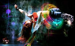 Girl Breakdance Hd Widescreen Wallpapers 1280x8001 by GavidiaRamon