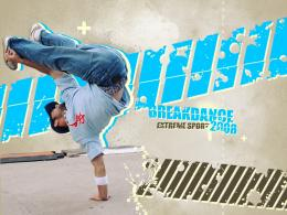 Breakdance Break Dance Fever Wallpaper with 1024x768 Resolution