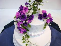Cakes Beautiful Wedding Cake In Hd Wallpaper with 1400x1050 Resolution