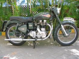 Royal Enfield Bullet Bike HD Wallpaper 266
