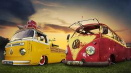 Sweet Toy Volkswagen Wallpaper HD Vintage 1243
