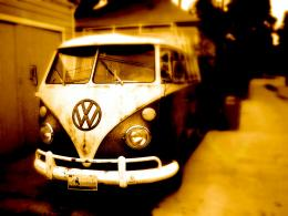 VW Bus Wallpaper Vintage 1468
