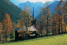 CHURCH IN MOUNTAINS WALLPAPERS | CHURCH IN MOUNTAINS Scenery Desktop 1852