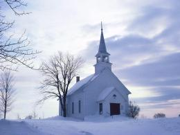 Country Church In Winter Photography Images Wallpaper Amp Ecard 1679