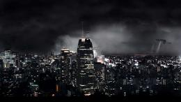 HD Wallpaper The Big City In Sci Fi