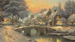classic christmas painting hd wallpapers free download classic art 1172