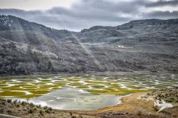 Wallpapers: Spotted Lake in British Columbia, Canada HD Wallpapers