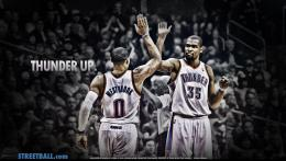 Russell Westbrook and Kevin Durant Thunder Wallpaper 1175