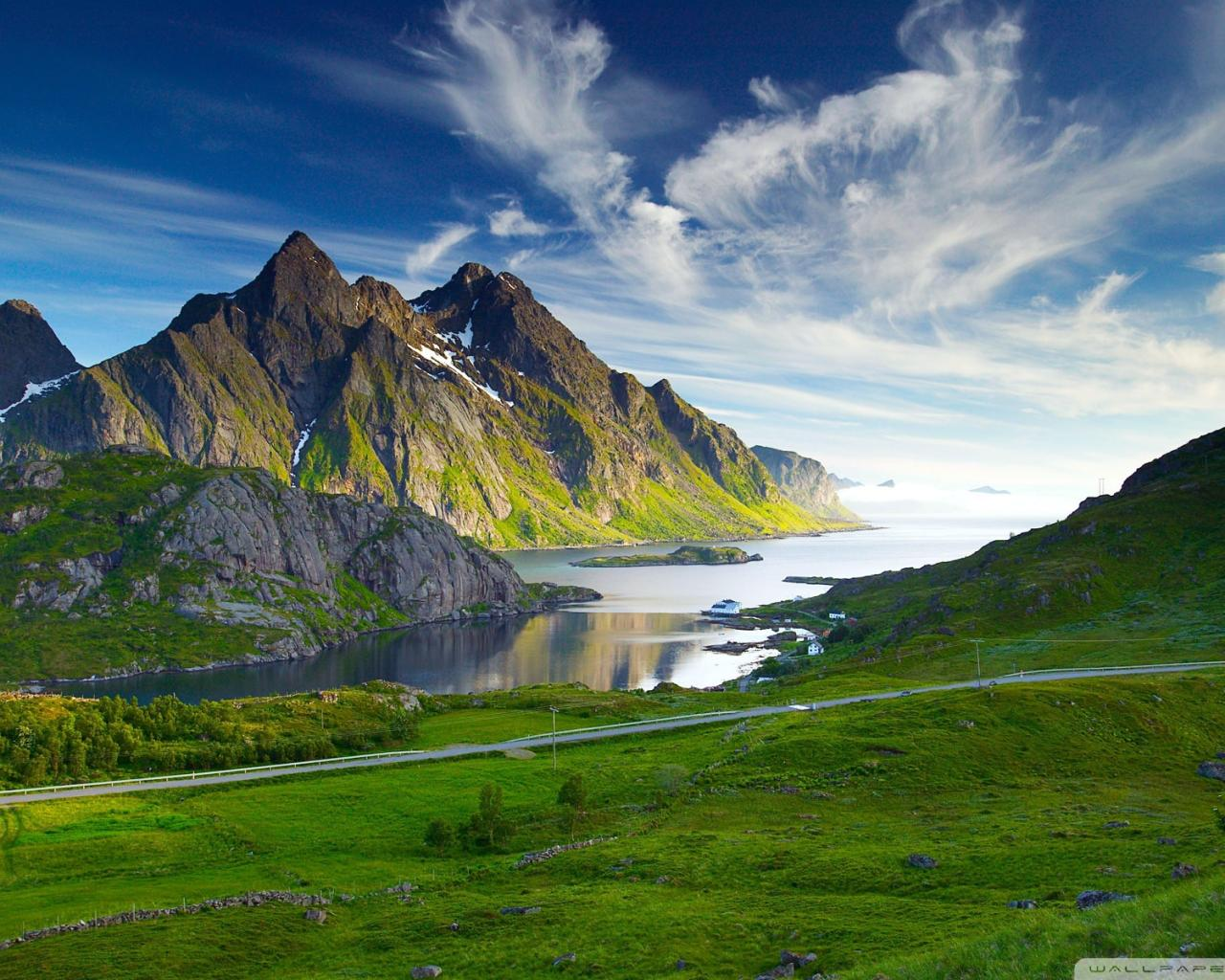 Nordic Landscape background 1280x1024 hd desktop wallpaper download 732