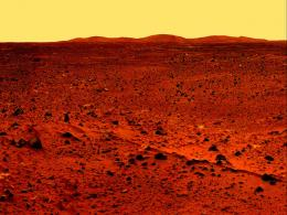 Mars surface photo probe Space 1857