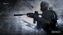 Call of Duty Modern Warfare 4 HD Wallpaper Logo