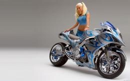 motorcycle wallpaper, bike wallpaper, wallpaper, blue motorcycle