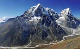 Mount Everest and Ama Dablam