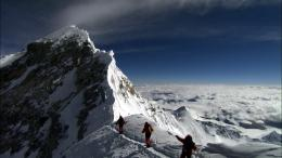 mount everest is the tallest mountain in the world with the