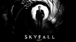 skyfall 2012 movie cover poster HD Wallpaper