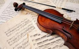 ViolinMusical InstrumentBowSheet MusicMusic Wallpaper