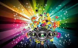 Free Colorful Music Wallpapers