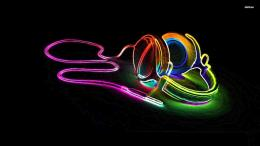 neon headphones 1920x1080 music wallpaper jpg