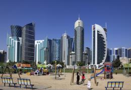 Doha Qatar Skyline HD Wallpapers 1822