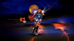 Kevin Durant Sports Theme Hd Wallpaper