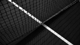 Grid wallpapers, tennis court, marking the lines, sports, photo