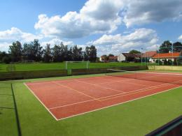 Tennis Court HD1080P HD wallpaper
