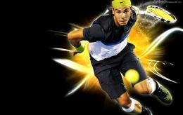 Tennis Rafael Nadal Hd For Free Backgrounds Wallpaper with 1900x1200