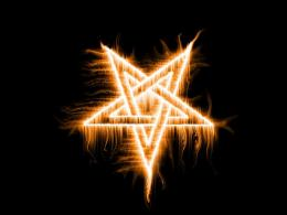 wallpaper title burning upside down star wallpaper category misc your 1260