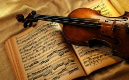 violin vintage hd wallpaper