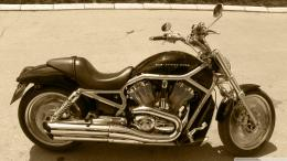 Harley Davidson Vintage Bike Photo 1920x1080 HD Wallpaper