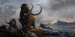 Prehistoric Mammals Woolly Mammoths by Balcsika 1609