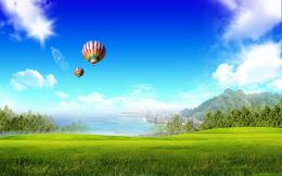 air balloons desktop wallpapers hot air balloons desktop backgrounds 680