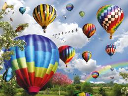 air balloons the desktop wallpaper download free hot air balloons the 1857