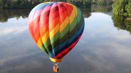 hot air balloon HD wallpapers for Desktop1366X768hot air balloon 1545