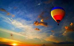 hot air balloon wide free desktop wallpaper download hot air balloon 388