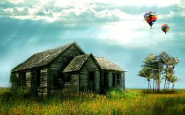 Hot air balloonWindows 7 desktop backgrounds 1053
