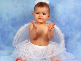 Cute Angel Baby Girl 1522
