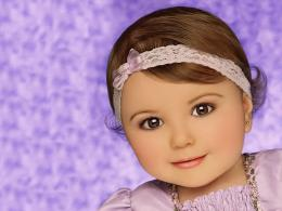 baby girl face wallpapers hd wallpapers 1295