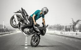 Bajaj Pulsar Bike Wallpaper 607