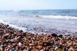 Stony Beach Of Baltic Sea Desktop Background HD wallpapers 822