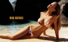 wallpaper bar refaeli in sexy pose wallpapers categories bar refaeli 771