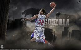 Godzilla Blake Griffin Wallpaper 1027
