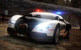 NFS Bugatti Veyron Police Car wallpaper 891