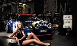 Ford Rally Car Girl Cute Pilot Original HD Wallpapers 634