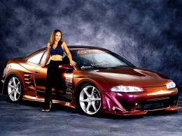 Girls And Cars Wallpaper 1042