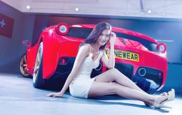 girl with car photography hd wallpaper search more high definition 1998